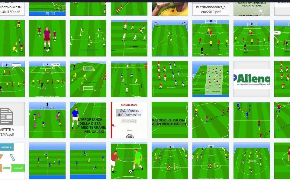 Esercitazioni calcio