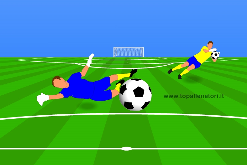 allenamenti portieri di calcio
