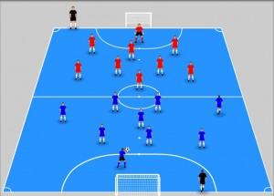 partita libera nel calcio